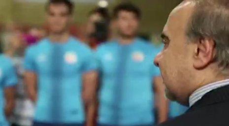 گزارشی از حضور وزیر ورزش در تمرین تیم ملی تکواندو