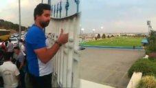 حاشیه بازی پیکان - استقلال در پیکانشهر