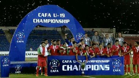 جشن قهرمانی جوانان ایران در مسابقات کافا