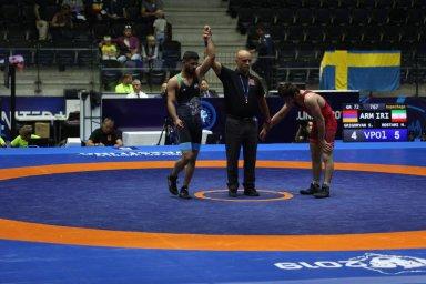 صعود محمدرضا رستمی به رده بندی وزن 72 کیلوگرم