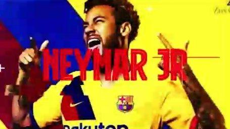 کلیپ پخش شده در فضای مجازی از بازگشت نیمار به بارسلونا