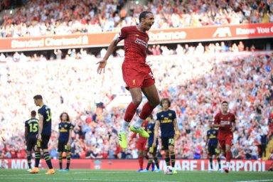 گل اول لیورپول به آرسنال (ماتیپ)
