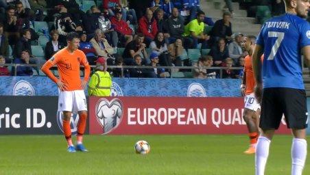 خلاصه بازی هلند 4 - استونی 0 (مقدماتی یورو)