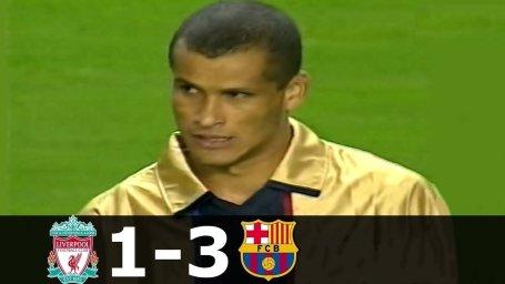 بازی خاطره انگیز لیورپول - بارسلونا در سال 2001