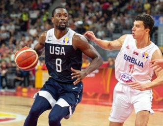 خلاصه بسکتبال آمریکا 89 - صربستان 94 (جام جهانی)