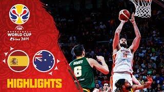 خلاصهبسکتبال اسپانیا - استرالیا (جامجهانیبسکتبال)