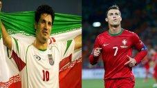 برترین گلزنان ملی جهان؛ علی دایی و کریستیانو رونالدو