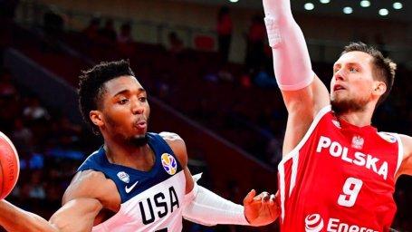 خلاصه بسکتبال آمریکا - لهستان (جام جهانی)