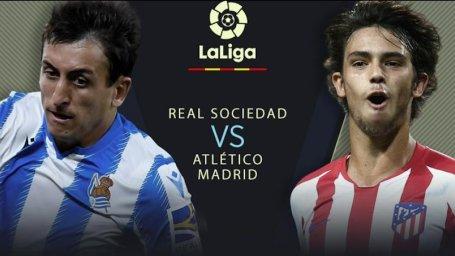 خلاصه بازی رئال سوسیداد 2 - اتلتیکو مادرید 0