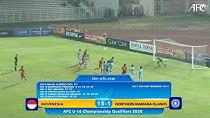 برد عجیب و مشکوک تیم زیر 16 سال اندونزی با 15 گل
