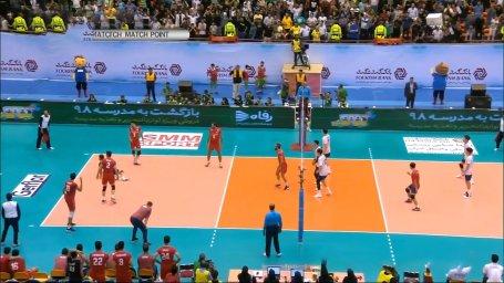 خلاصه والیبال کره جنوبی 1 - ایران 3
