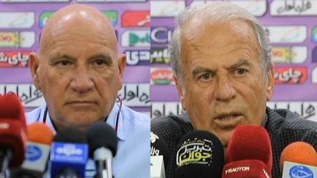 کنفرانس خبری دنیزلی و بگوویچ پس از بازی