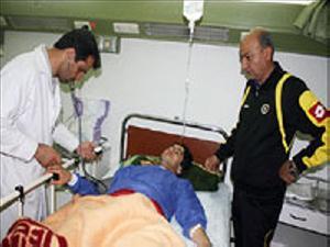 خسرو حیدری از بیمارستان مرخص شد