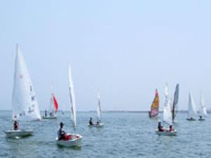 نهمی احمدی در پایان دور دهم قایق بادبانی