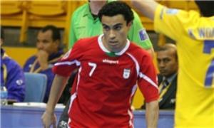 حسن زاده بهترین بازیکن فوتسال آسیا شد