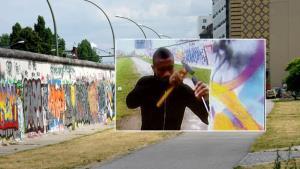 احتمال جریمه کالو بخاطر حکاکی روی دیوار برلین