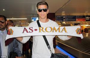 شزنی:پیوستن به رم تصمیم راحتی بود