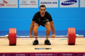 وزنهبردار چین طلایی شد، بهروزی در مجموع پنجم