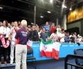 تشویق کیانوش رستمی توسط تماشاگران ایرانی