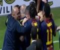 سویا ۲-۳ بارسلونا (خلاصه بازی)