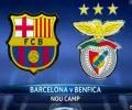 بارسلونا۰-۰بنفیکا