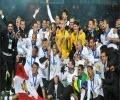 مراسم اهدای مدال جام باشگاه های جهان۲۰۱۲