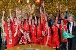 جشن قهرمانی بایرن مونیخ در جام حذفی ۱۳-۲۰۱۲