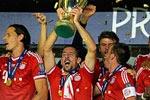 جشن قهرمانی بایرن مونیخ در سوپرکاپ اروپا