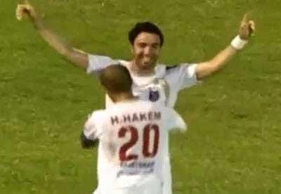 الکویت ۱-۰ السالمیه (گلزنی نکونام)
