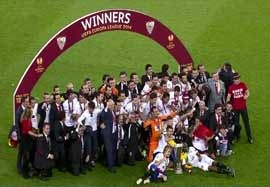 مراسم اهدای جام لیگ اروپا ۲۰۱۴-۲۰۱۳