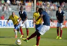 فرانسه ۲-۵ برزیل (فینال زیر ۲۱ سال)