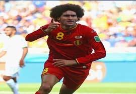 بلژیک ۲-۱ الجزایر