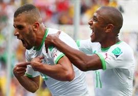 کره جنوبی ۲-۴ الجزایر