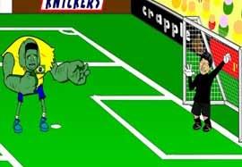 انیمیشن بازی برزیل – شیلی