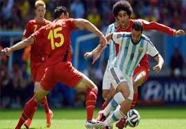 آرژانتین ۱-۰ بلژیک