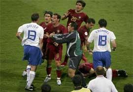 خشن ترین بازی تاریخ جام جهانی