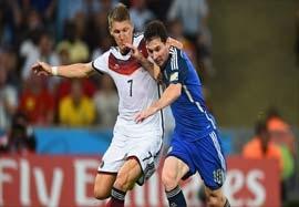 آلمان ۱-۰ آرژانتین