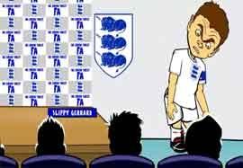انیمیشن خداحافظی استیون جرارد از تیم ملی انگلیس