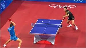 صحنه های زیبا از تنیس روی میز