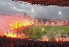 ۱۰ آتش بازی وحشتناک در استادیوم ها فصل ۱۴-۲۰۱۳