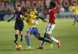 برزیل ۱-۰ کلمبیا (گل بازی)