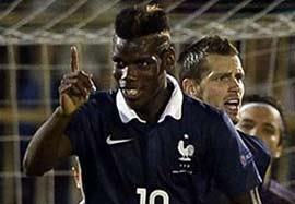 صربستان ۱-۱ فرانسه (گلهای بازی)