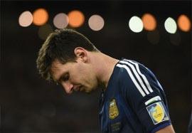 لحظه سوت پایان بازی فینال جام جهانی ۲۰۱۴