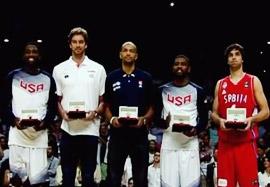 ۵ ستاره جام جهانی بسکتبال اسپانیا ۲۰۱۴