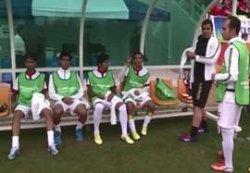 گزارشی از بازی فوتبال هفت نفره ایران – ژاپن