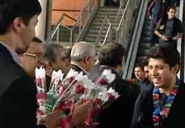 گزارشی از بازگشت کاروان ایران از مسابقات پاراآسیایی