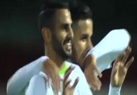 الجزایر ۳-۱ اتیوپی (گلهای بازی)