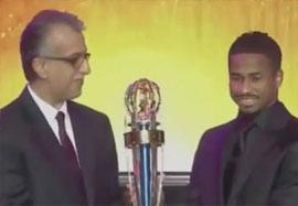 ناصر الشمرانی برترین بازیکن سال فوتبال آسیا ۲۰۱۴
