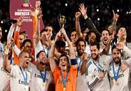 جشن قهرمانی رئال مادرید؛ جام باشگاه های جهان