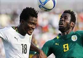 غنا ۱-۲ سنگال (خلاصه بازی)